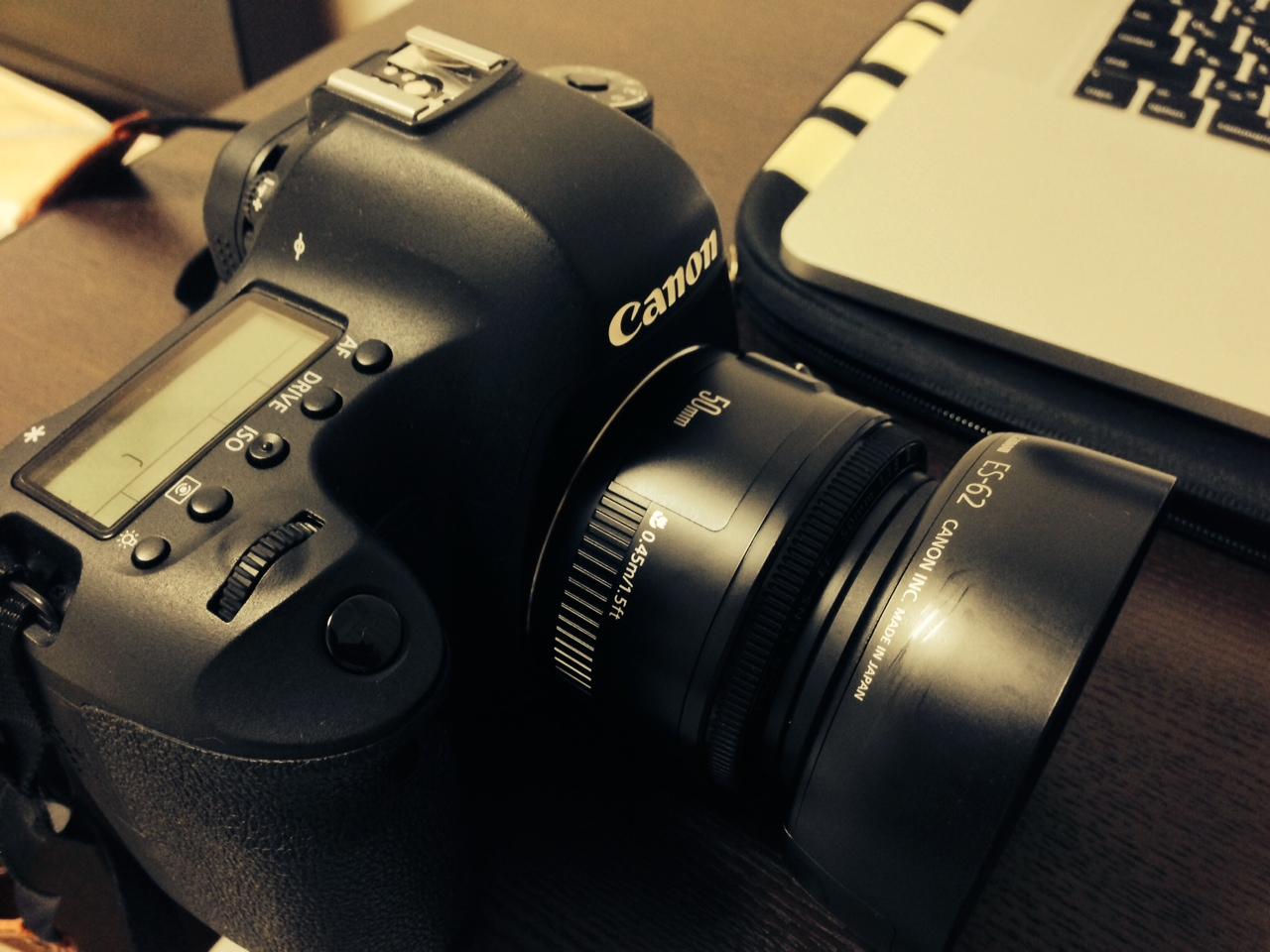 EF50mm F1.8Ⅱ