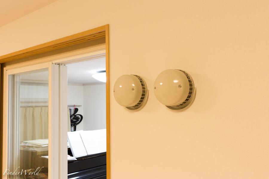防音室の換気扇