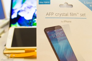 iPhone4, iPhone5, iPhone6 Plusで愛用している液晶保護フィルム「POWER SUPPORTのAFP crystal film」