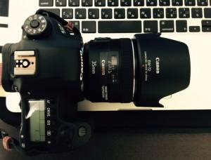 EF35mm F2 IS USM購入後、このレンズが私の6D標準装着レンズとなりました