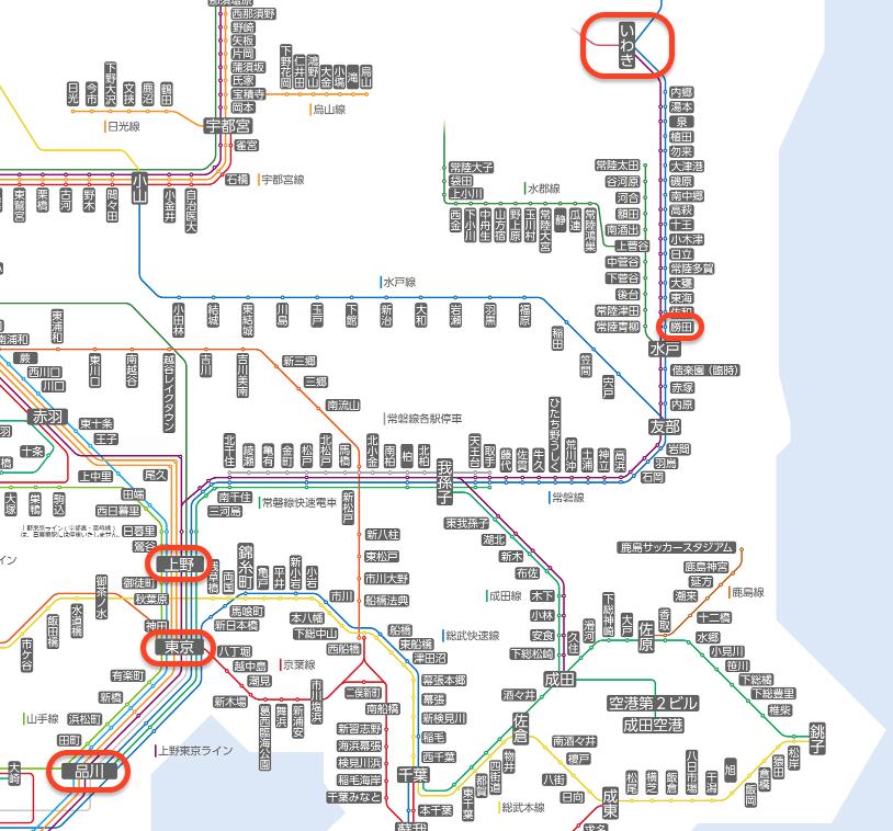 路線図(http://www.jreast.co.jp/map/より)