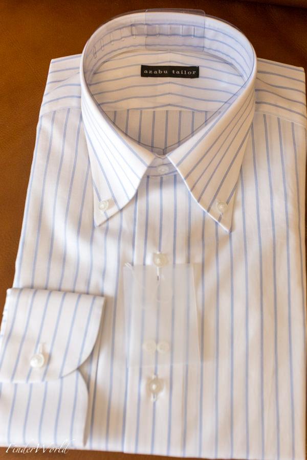 麻布テーラのシャツ