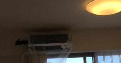 ダスキンのエアコン掃除